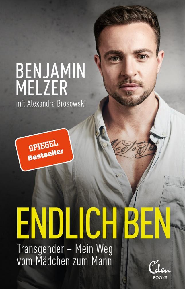 BenjaminMelzer_Spiegel-Bestseller-Endlich Ben-Transgender